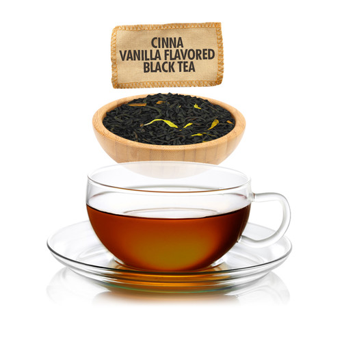 Cinna-Vanilla Flavored Black Tea Loose Leaf - Sampler Size - 1oz