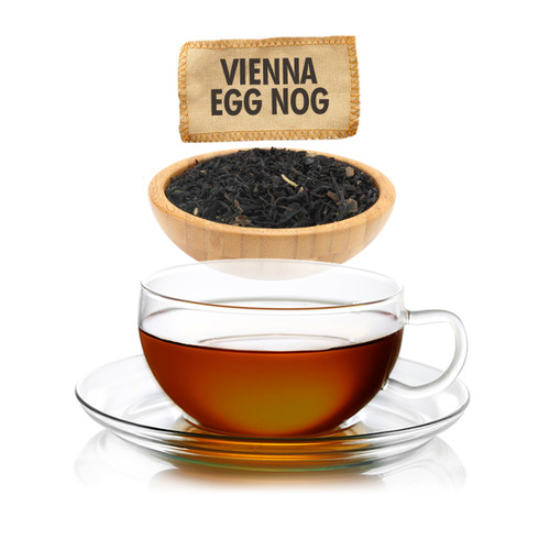 Vienna Egg Nog Flavored Black Tea - Loose Leaf - Sampler Size - 1oz