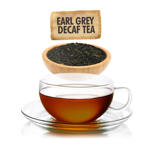 Earl Grey CO2 Decaf Tea - Loose Leaf - Sampler Size - 1oz