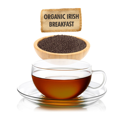 Organic Irish Breakfast Tea  - Loose Leaf - Sampler Size - 1oz