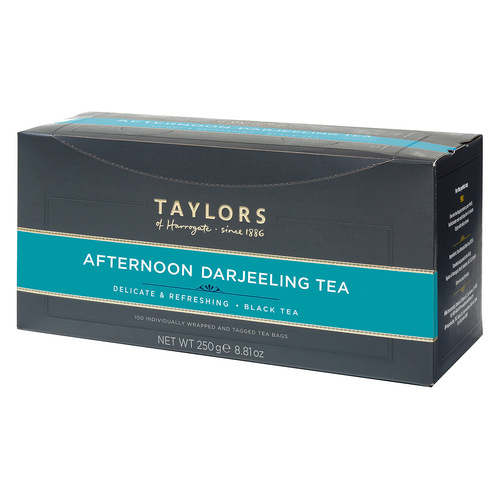 Taylors of Harrogate Afternoon Darjeeling - String & Tag 100 count