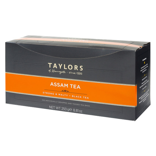 Taylors of Harrogate Assam - String & Tag 100 count