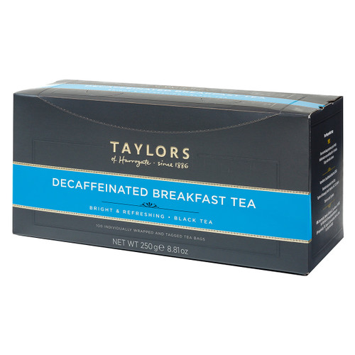 Taylors of Harrogate Decaffeinated Breakfast - String & Tag 100 count