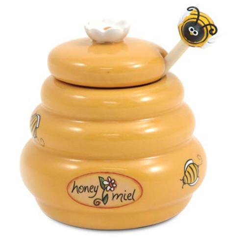 Mini Honey Pot & Dipper