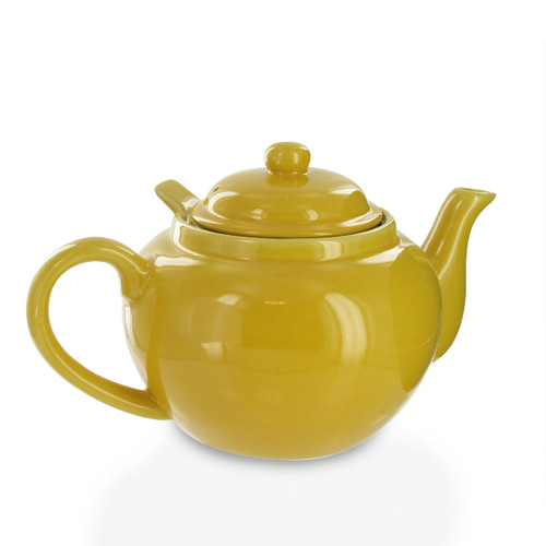 Amsterdam 2 Cup Infuser Teapot - Yellow