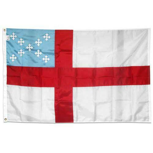 Episcopal flag 2ft x 3ft Outdoor Nylon