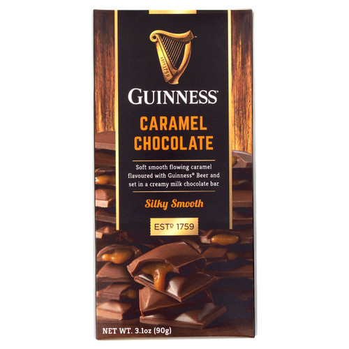 Guinness Caramel Chocolate Bar - 3.1oz (90g)