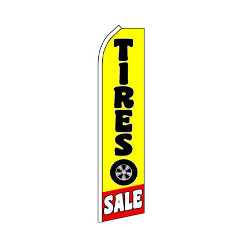 Tires Sale Swooper Flag