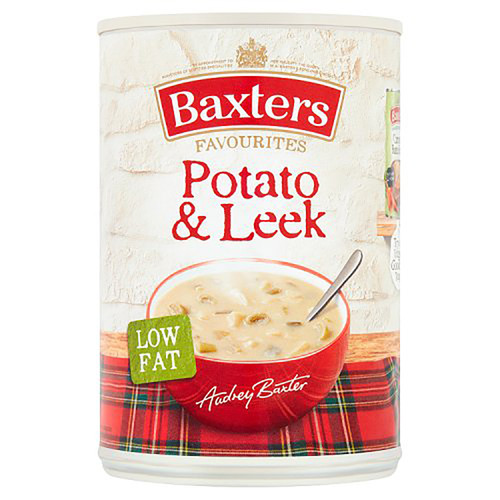 Baxter's Potato and Leek Soup - 14.1oz (400g)