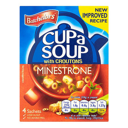 Batchelor's Cup-A-Soup - Minestrone 3.31 oz (94g)