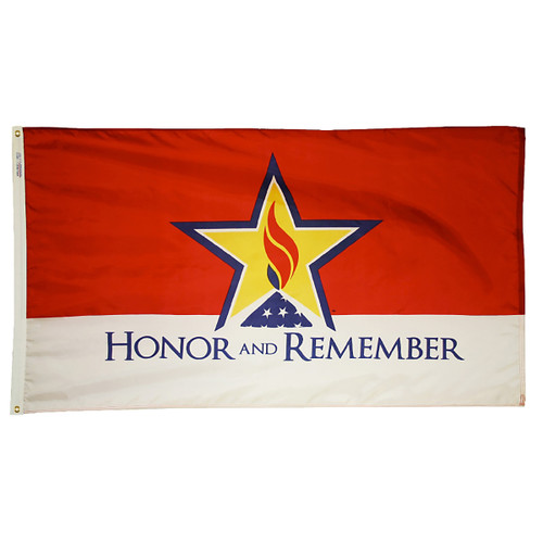 Honor and Remember 2ft x 3ft Nylon Flag