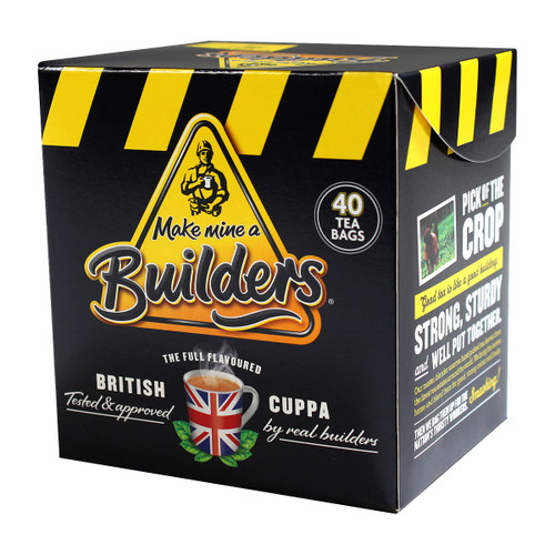 Builders Tea Bags - 40 count