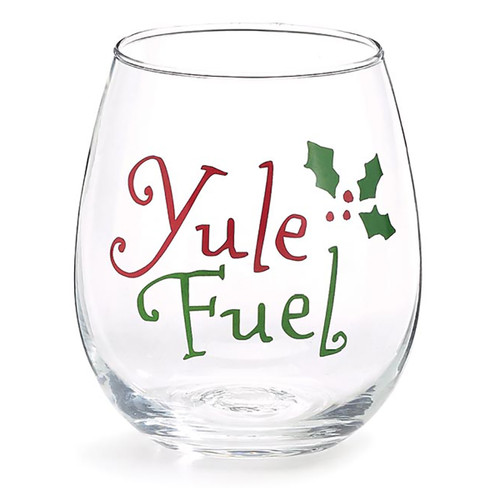 Yule Fuel Stemless Wine Glass - 16oz
