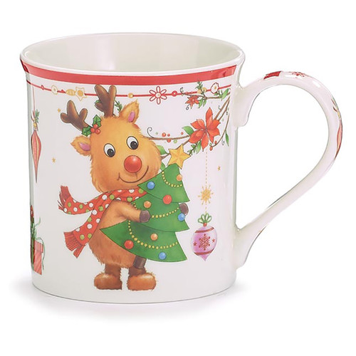 Reindeer Mug With Gift Caddy - 11oz