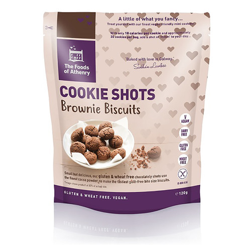 Cookie Shots - Brownie Biscuits - 4.2oz (120g)