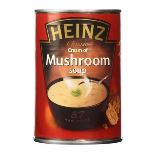 Heinz Cream of Mushroom Soup - 14.1oz (400g)