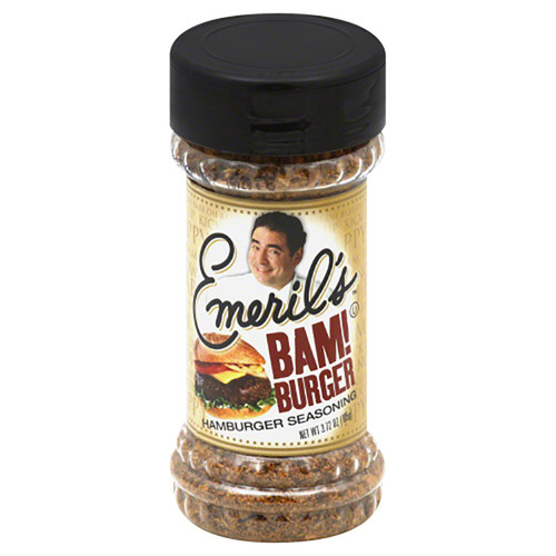 Emeril's BAM! Burger Seasoning- 3.72oz (105g)