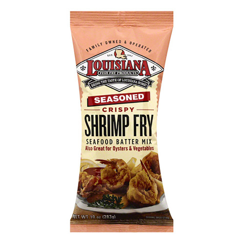 Louisiana Shrimp Fry  Mix- 10 Oz (283g)