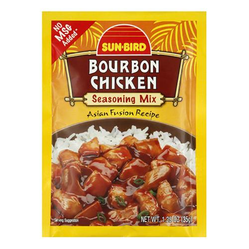 Sunbird Bourbon Chicken Seasoning Mix  - 1.25oz (35g)