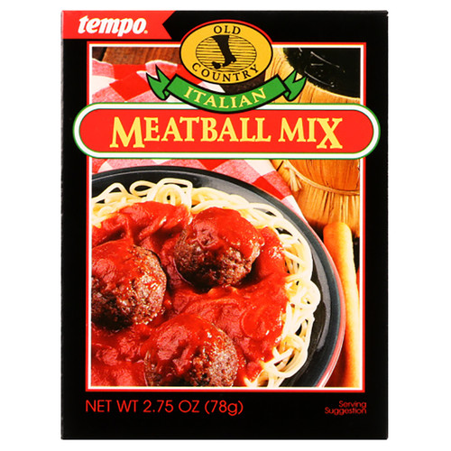 Tempo Old Country Italian Meatball Mix Seasoning - 2.75oz (77g)