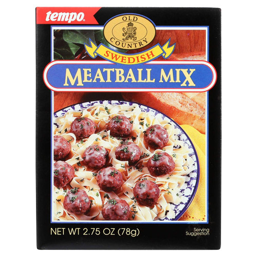 Tempo Old Country Swedish Meatball Mix Seasoning - 2.75oz (77g)