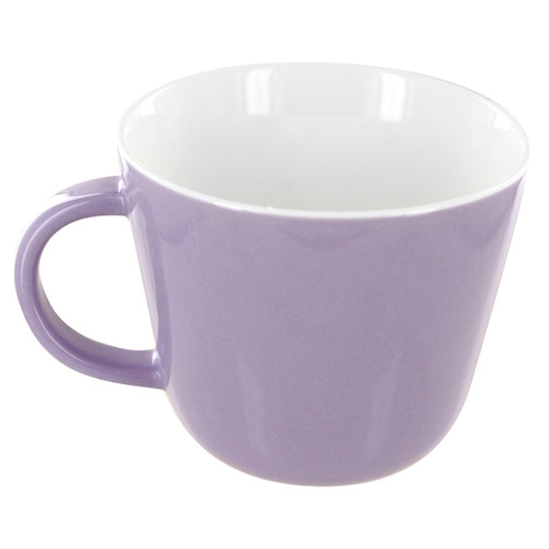 English Tea Store Porcelain Mug-Lavender Gloss Finish