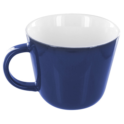 English Tea Store Porcelain Mug-Navy Blue Gloss Finish