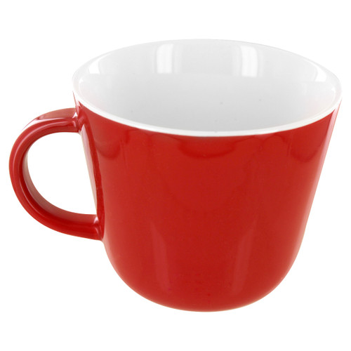 English Tea Store Porcelain Mug- Red Gloss Finish