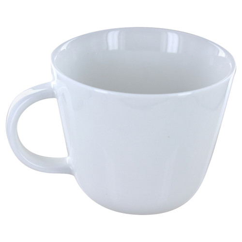 English Tea Store Porcelain Mug- White Gloss Finish