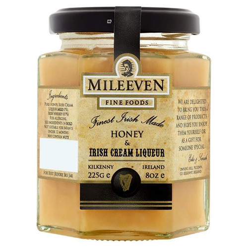 Mileeven Irish Cream Liqueur Honey  - 8oz (225g)