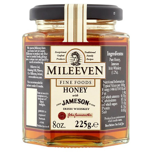 Mileeven Jameson Irish Whiskey Honey  - 8oz (225g)