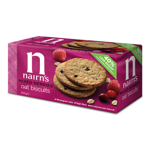 Nairn's Mixed Berries Oat Biscuits - 7.05oz (200g)