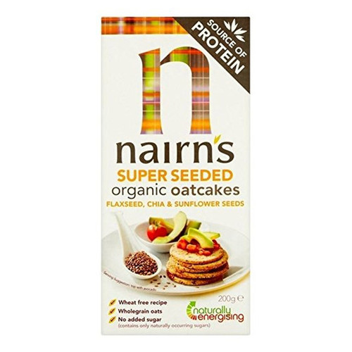 Nairn's Super Seeded Organic Oatcakes - 7.05oz (200g)