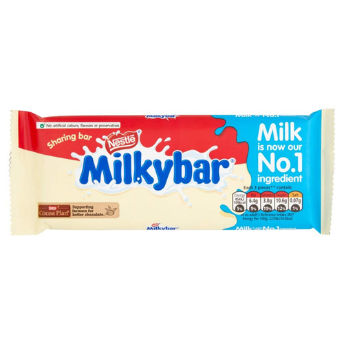 Nestle Milky Bar - 3.52oz (100g)