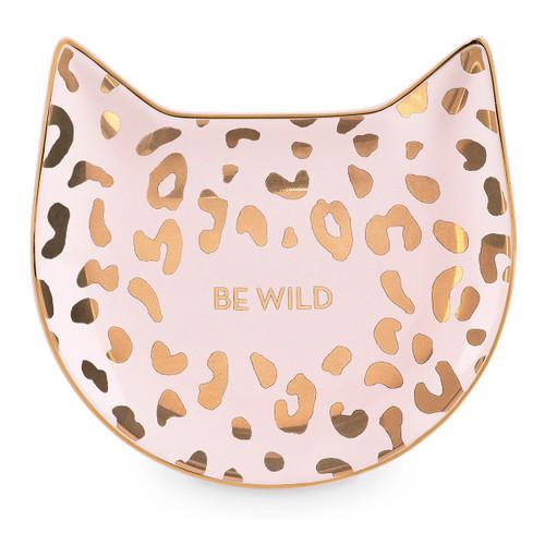 Pink Leopard Tea Tray
