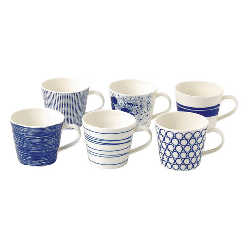Royal Doulton - Pacific Accent Mugs, Set of 6