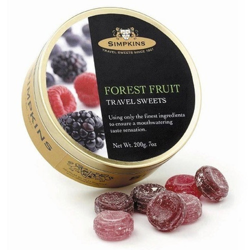 Simpkin's Travel Sweets - Forest Fruit - 7oz. (200g)