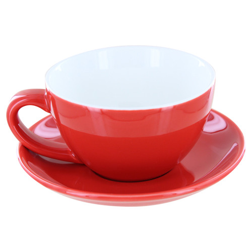 English Tea Store Porcelain Tea Cup- Red Gloss Finish