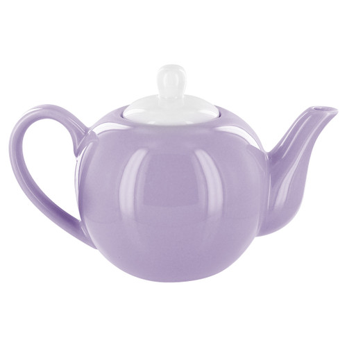 English Tea Store 2 Cup Porcelain Teapot- Lavender Gloss Finish