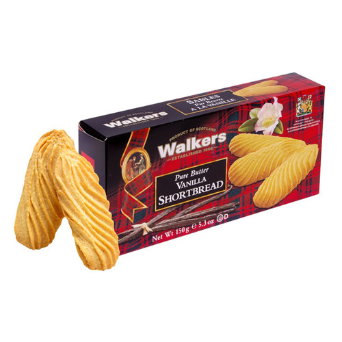 Walkers Vanilla Shortbread Cookies - 5.3oz (150g)