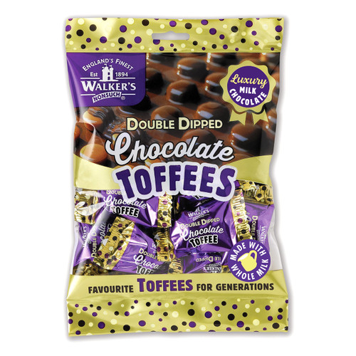 Walkers Nonsuch Double Dipped Chocolate Toffees - 4.76oz (135g)