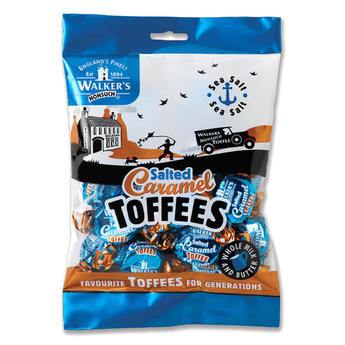 Walkers Nonsuch Salted Caramel Toffees - 5.29oz (150g)