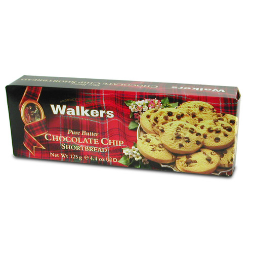 Walkers Chocolate Chip Shortbread- 4.4oz (124g)