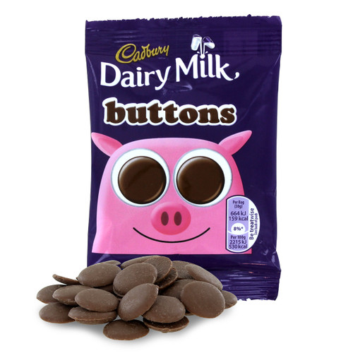 Cadbury's Buttons - Milk Chocolate - (30g)
