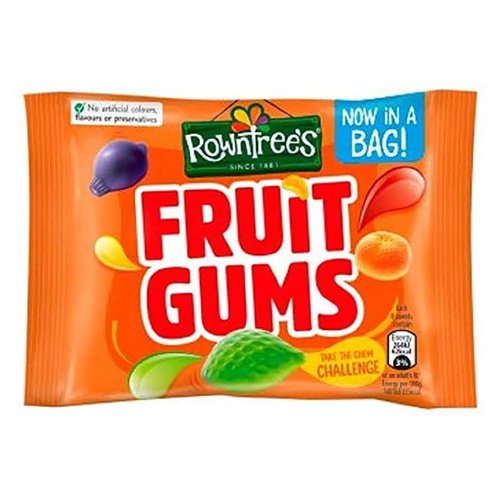 Nestle Rowntree Fruit Gums - 1.5oz (42g)