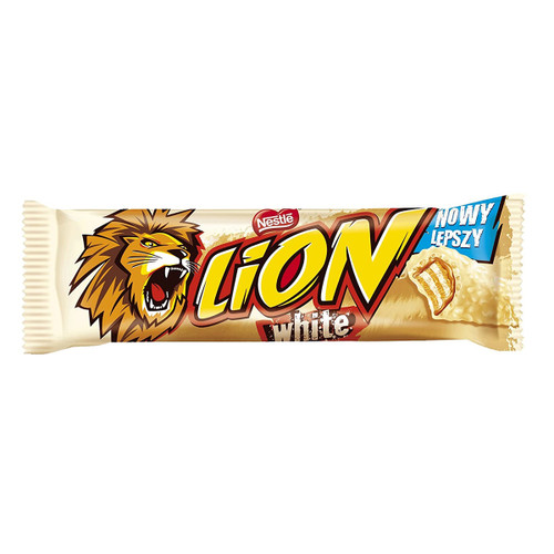 Nestle White Chocolate Lion Bar - 1.48oz (42g)