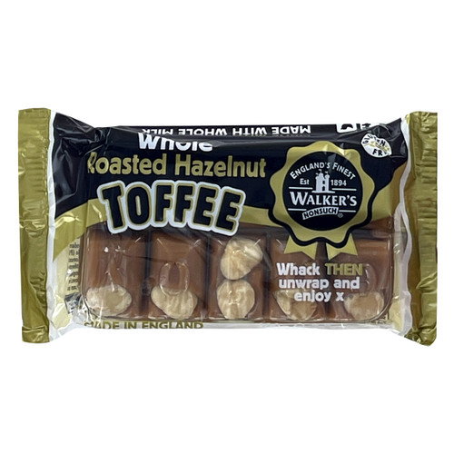 Walkers Nonsuch English Toffee - Roasted Hazelnut - 3.52oz (100g)