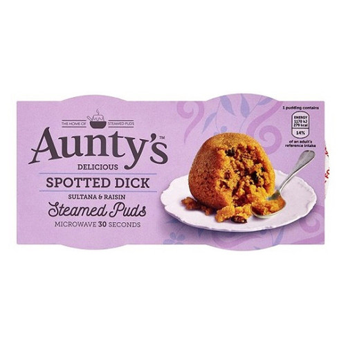 Auntys Spotted Dick Pudding - (2 x 95g)