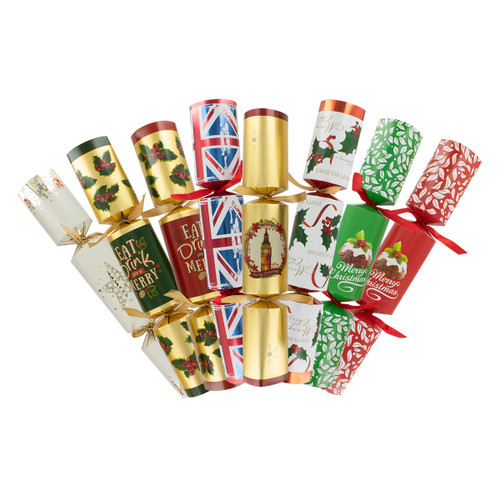 Pudding Lane Lucky Dip - 50 Assorted Christmas Crackers