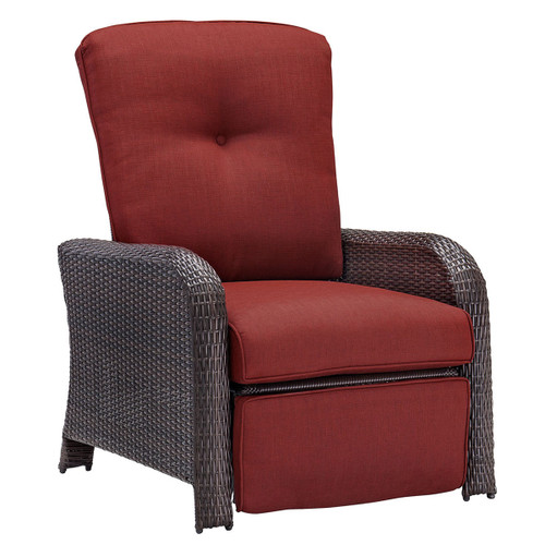 Strathmere Luxury Recliner in Crimson Red